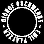 Biohof Gschwendt Logo Weiß